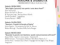 """Webinar gratuito: Pillole Informative """"Persona & Disabilità"""""""